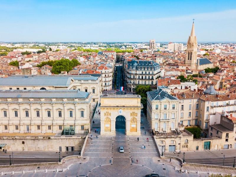 Comment visiter l'Arc de Triomphe de Montpellier ?